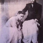 Pandit Das with his Guruji, Pandit Ram Narayan Misra