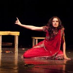 Playing the role of Kaikeyi in 'Ramayana'
